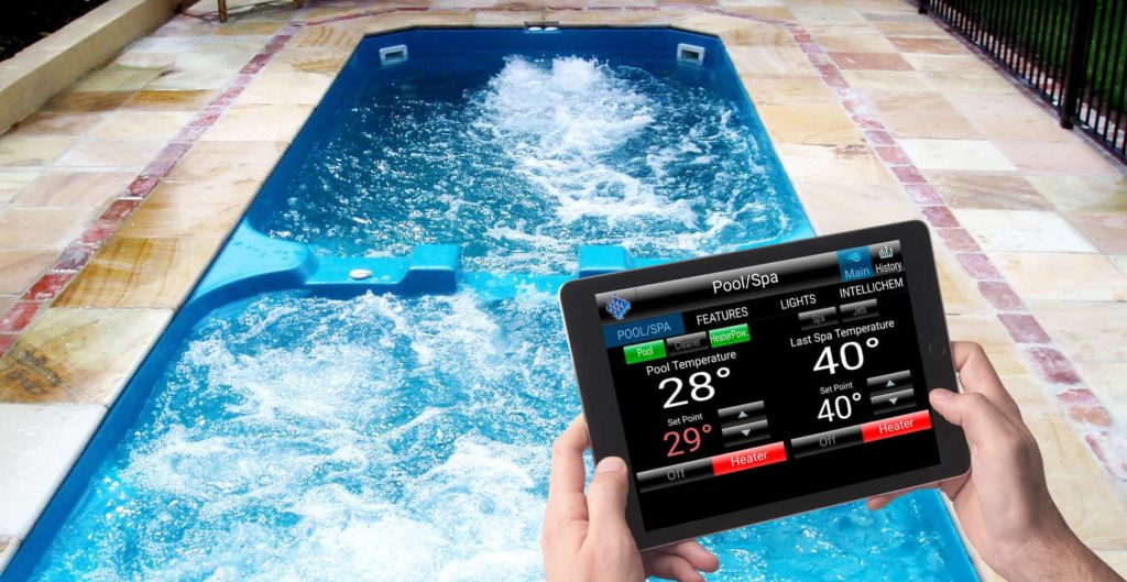 Automated Pool Systems and Mobile Apps - Pool Technology - Pool ...